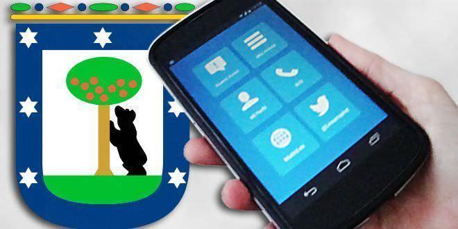 App para incidencias del ayuntamiento de Madrid