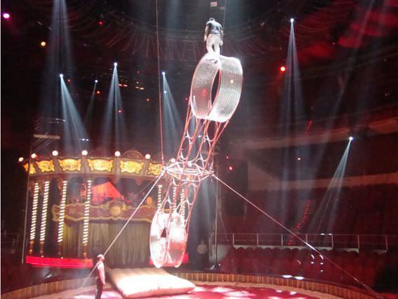 La Rueda de la Muerte en el Circo Price.