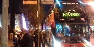 Un paseo navideño a bordo del Navibús.