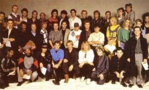 Los miembros del 'Band Aid' original, en 1984.