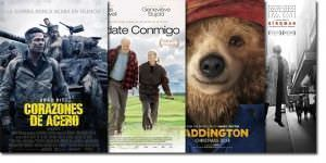 Brad Pitt y el oso Paddington, protagonistas de la cartelera este fin de semana