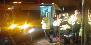 Un disparo en la nuca acaba con la vida de un hombre en Carabanchel. Foto: Emergencias Madrid