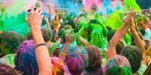 Holi Run, cuando las calles se llenan de color.