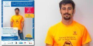 Hugo Silva, solidario con la salud mental.
