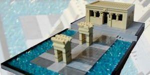 Madrid en 15.000 piezas de Lego.