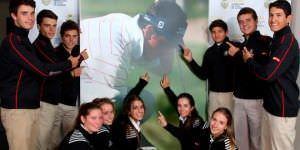 Madrid fomenta el golf entre niños y jóvenes.