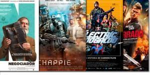 Un negociador, un robot y un detective setentero entre los estrenos de cine.