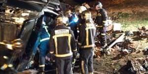 Menos accidentes de tráfico esta Semana Santa en Madrid.