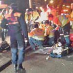 Un joven muere atropellado al atravesar la Castellana indebidamente