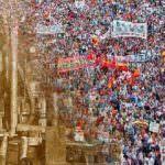 El 1 de mayo, los trabajadores salen a la calle