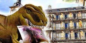 Los dinosaurios repueblan Madrid por unos días.