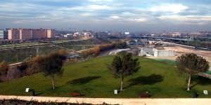 Parque lineal del Manzanares.