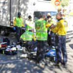 Fallece un anciano golpeado por un camión en San Blas