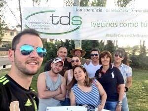 Vecinos de Serranillos del Valle formaron el TDS.