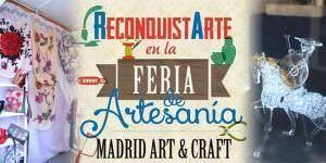 Feria de Artesanía en Recoletos.