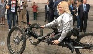 La atleta paralímpica Gema Hassen-Bey.