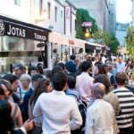 Fiesta en la calle para celebrar 'San Jorge Juan'