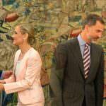 Felipe VI recibe a las nuevas presidenta y alcaldesa de Madrid