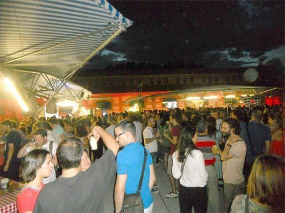 Plaza en Verano de Matadero