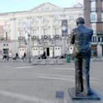 Santa Ana, plaza emblemática en Las Letras.