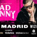 Bad Bunny conquistará el WiZink Center