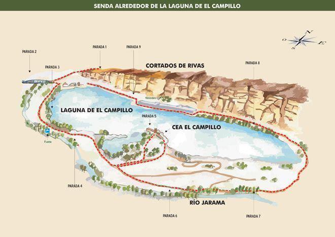 Laguna Campillo plano