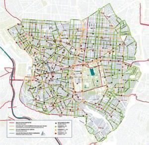 Mapa BiciMad