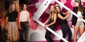 Glamour en las calles con la Vogue Fashion's Night Out.