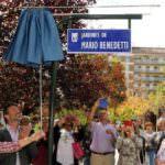 Homenaje en forma de parque al escritor Mario Benedetti