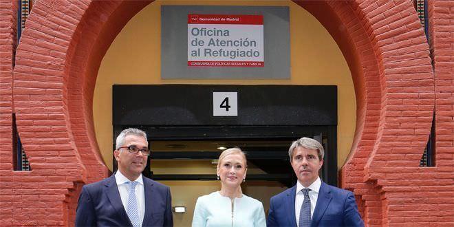 Nueva oficina de atenci n al refugiado en madrid el for Oficina atencion al contribuyente madrid