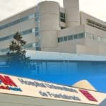 Aparece una persona fallecida en los jardines del hospital de Fuenlabrada
