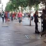 Detienen a unos proxenetas y liberan a una joven rumana en la calle Montera