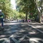 Hoy, primer domingo de ciclovía permanente en el Paseo del Prado