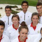 Combinar estudios y golf, una opción para ocho jóvenes figuras