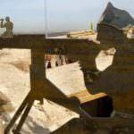 Rehabilitación de las trincheras de la guerra
