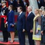 Los Reyes presiden un año más el desfile por la Fiesta Nacional