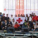 Concierto solidario en Plaza de Colón en ayuda a los refugiados