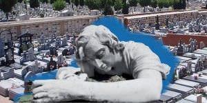 'Monumentos inevitables' muestra el patrimonio y los secretos de los cementerios madrileños.