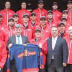 Victoria del hockey hielo español en el Preolímpico de Valdemoro