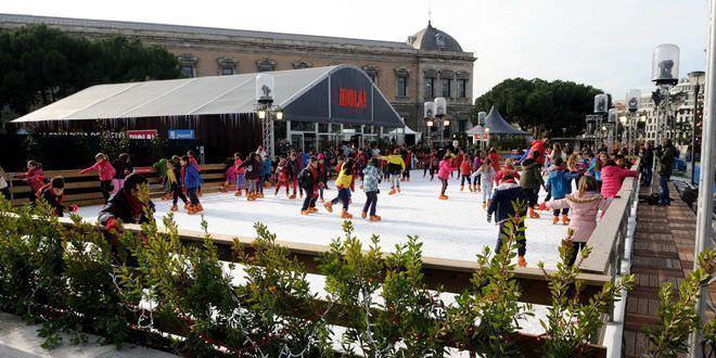 propuestas navidad madrid pista hielo