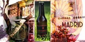 'Gabarrera', la primera cerveza artesanal y ecológica de la Comunidad de Madrid.