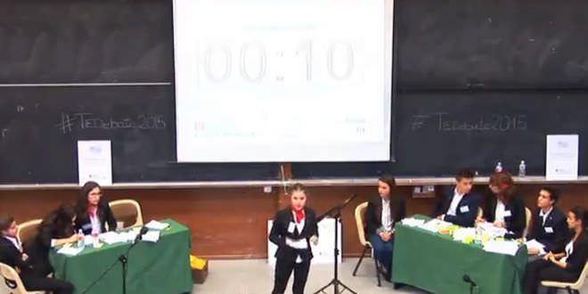 Torneo debate oradores