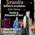 El Castillo de Manzanares el Real se convierte en escenario navideño