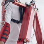 El 'traje músculo' de Kobayashi revoluciona la Global Robot Expo