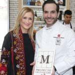 El chef Mario Sandoval, embajador de la marca madrileña 'M Producto certificado'