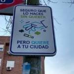 Madrid se llena de carteles para animarnos a ser más limpios
