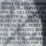 La lápida de los carmelitas que retiró por error el Ayuntamiento, será recolocada