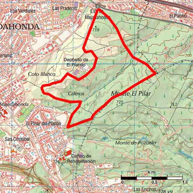 Ruta del Pilar mapa