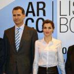Los Reyes, Felipe y Letizia, inauguran la 35 edición de ARCOmadrid
