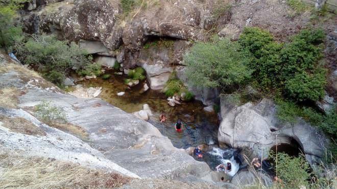 Baño en Valsaín
